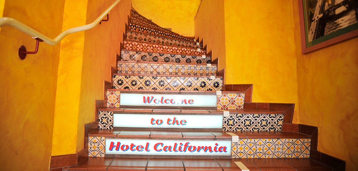 Welcome to Hotel California in Zürich!